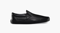 Vans leather Slip on