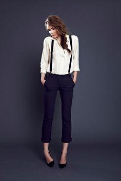 Women's Clothing | Business Casual For Women | would be cute with a bodysuit
