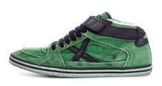 Zapatillas en color verde de moda otoño invierno 2013 2014