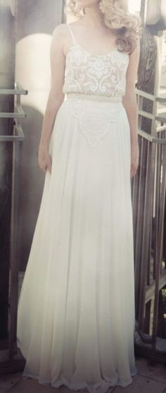 Lace bridal gown. <3 by TheBellJar.nl