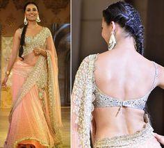manish malhotra, blouses, indian weddings, desi, lara dutta, shabana azmi, sari, blog, anushka sharma