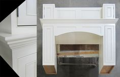 Lots of detail on this beautiful range hood, including Beaded Inset doors and pull-outs.