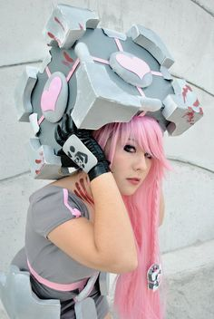 Companion Cube by *MissNatsume on deviantART