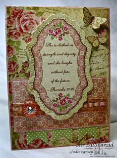 ODBDSLC212 (Week 2)  Stamps - Our Daily Bread Designs Faith, ODBD Custom Pennant Die, ODBD Custom Vintage Flourish Pattern Die, ODBD Blushing Rose Paper Collection
