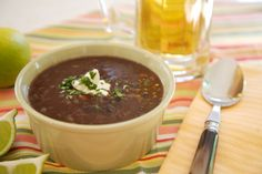 Black Bean Soup on http://www.draxe.com