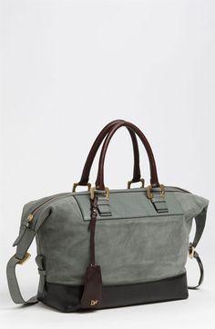 Diane von Furstenberg 'Drew' Suede & Leather Satchel available at #Nordstrom