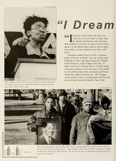 "Athena yearbook, 2000. "" I Dream a World...""  :: Ohio University Archives"