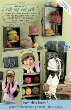 Hobby Lobby Project - Love this Loom! - Loom, Knitting, Bag, Yarn