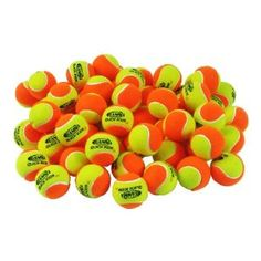 Gamma Quick Kids 60 Ball (60/Pack, Orange/Yellow)