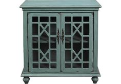 Swansboro Blue Accent Cabinet at Rooms To Go.