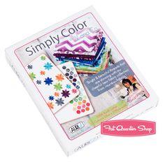 Simply Color Small Aurifil Thread Box V and Co. #SC28VC10  #FQSgiftguide