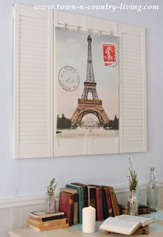 Paris Poster Wall Art - How To