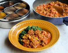 Monday Meal Plan and a New 5:2 Diet Recipe: Minced Beef and Mint Kheema