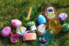 Alternative Egg Fillers for the Weekend's Hunt