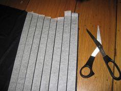 lace top, tape trick, bind tape, maxi skirt, masking tape, mask tape