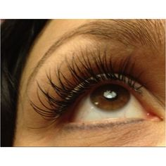 Eyelash extension by sue