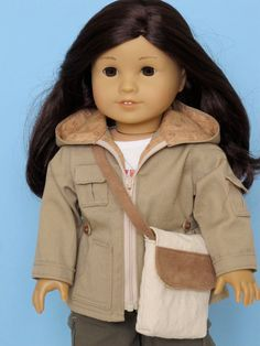 American Girl Adventure Jacket and field bag--Reserved listing for jchappa