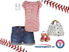 Take Me Out to the Ballgame!, created by rebeccasarah86 on Polyvore