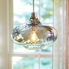 This pendant light is gorgeous!