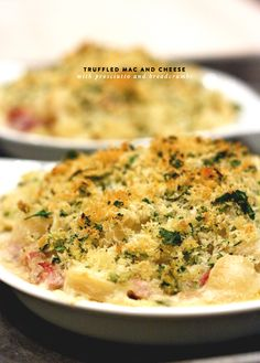 Recipe: Truffled Mac and Cheese with Prosciutto