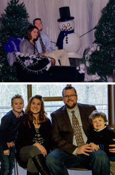 Elliot Jones, Director of Communication Services and his wife, Shannon, as students at the 1998 Winter Banquet. They were married July 12, 2003. (Sons: Trent and Jace)