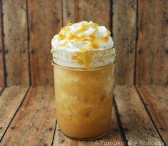 Frozen Caramel Drink Recipe