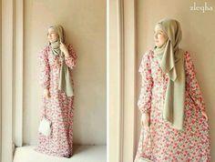 Lovely summer abaya..... ❤ hijab style