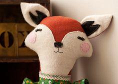 Miss Lady Fox Doll Custom Made by jenloveskev on Etsy, $60.00