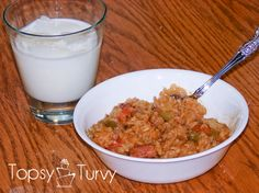 Ricer cooker Jambalaya --- so easy maybe even i can make