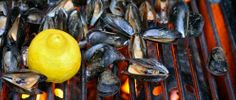BBQ Ideas   Grilled Mussels with Herb Butter