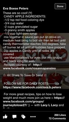 How to make Spider Man candy apples