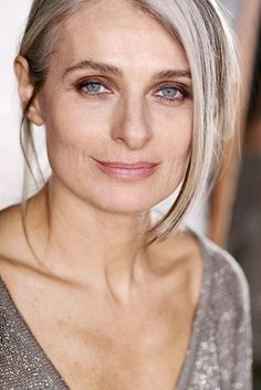 Beauty Has Little To Do With Age on Pinterest | Gray Hair ...