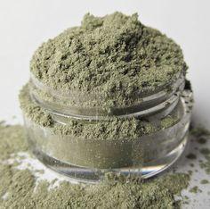 Green Mineral Eyeshadow ' Sea Grass' by MyBeautyAddiction on Etsy, $5.00