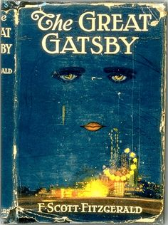 The first edition of F. Scott Fitzgerald's The Great Gatsby, 1925.