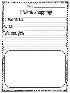 personal narrative writing prompts for kindergarten Narrative writing guide   • writing prompts 284 - 289  (k4) kindergarten bk1 - express ideas using pictures, scribble writing.