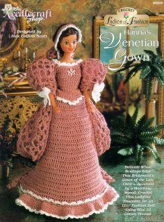 Barbie Crochet, Hanna's Venetian Gown,