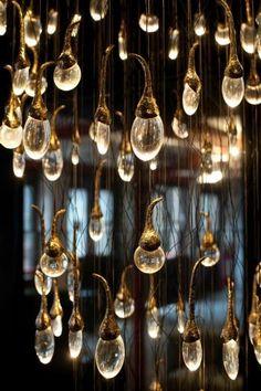The Bud Lighting Installation by Ochre: 100% Design Exhibit London 2011