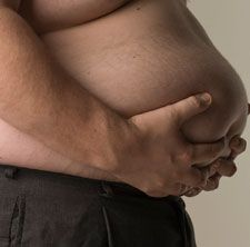 Lose the beer belly - it's just not healthy!