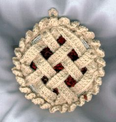 Cherry Pie & Ice Cream Crochet Pattern