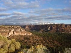 Jemez Mountains Near Los Alamos, New Mexico