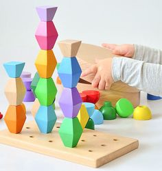 Colorful 3D Wooden B