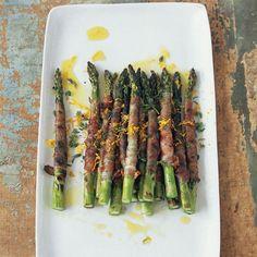 Prosciutto-Wrapped Asparagus with Citronette // More Asparagus Recipes: http://www.foodandwine.com/slideshows/asparagus #foodandwine