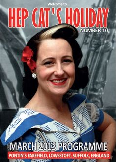 For Hep Cats Holiday 15th to 18th March   Hair and Makeup Lipstick & Curls   Limited tickets still available more details below  http://www.hepcatsholiday.com/