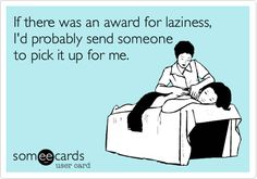laziness ecard