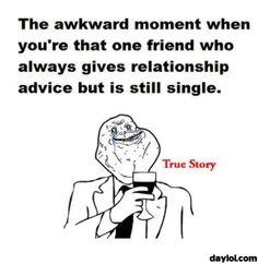 The awkward moment when ...