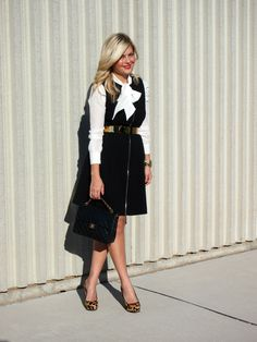 perfect work outfit via Suburban Faux-Pas