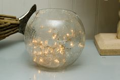 Pretty feature for dining tables or christmas decs