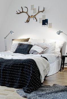 Bedroom Inspiration / Inspiration Chambre à coucher