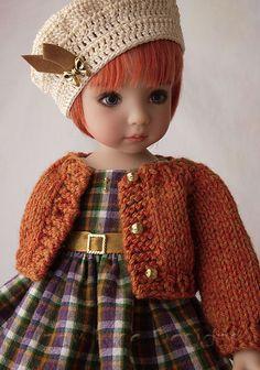 Autumn Sweetie for Effner's Little Darling dolls. cindyricedesigns.com