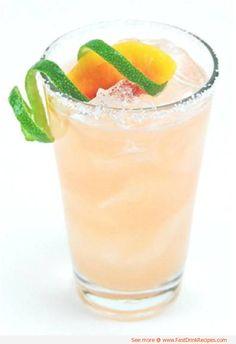 White Peach Paloma Cocktail - A peachy twist on the classic margarita!